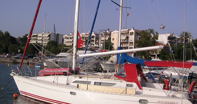 Alquiler de barcos Jeanneau Sun Odyssey 37.1 enLefkas Marina en Samboat