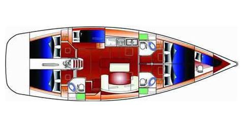 Alquiler de yate Betina - Bénéteau Cyclades 50.5 en SamBoat