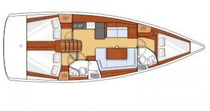 Alquiler de barcos Palma de Mallorca barato de Oceanis 41