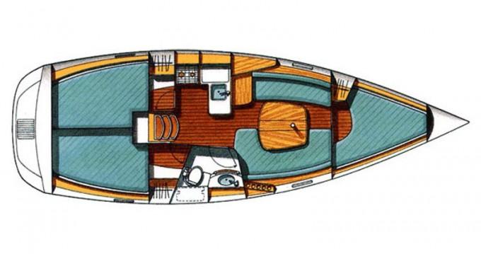Alquiler de Bénéteau Beneteau Oceanis 331 Clipper en Trogir