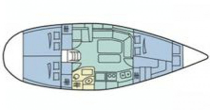 Alquiler de barcos Trogir barato de Dufour 36 Classic