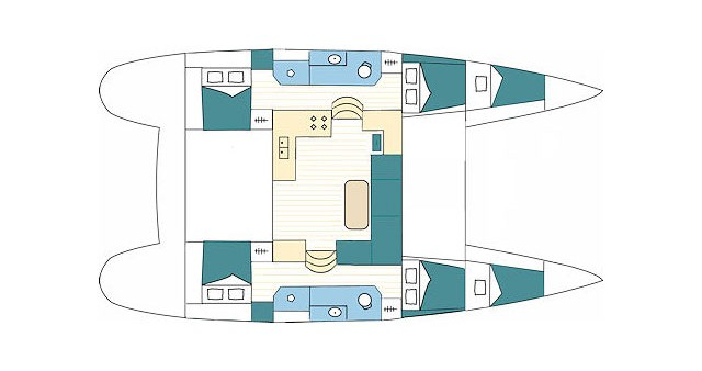 Alquiler de barcos Split barato de Lagoon 39