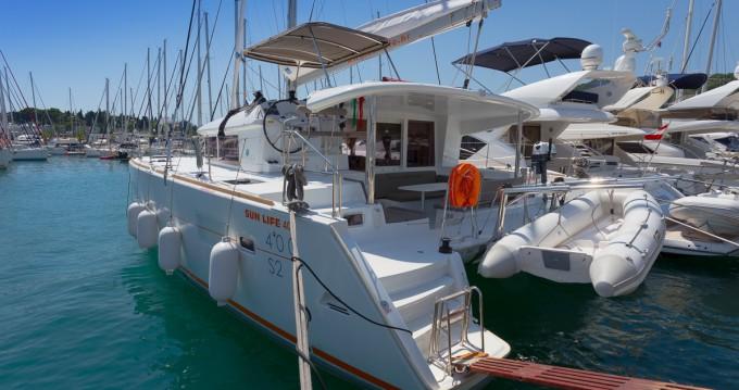 Alquiler de barcos Lagoon Lagoon 400 S2 enSplit en Samboat
