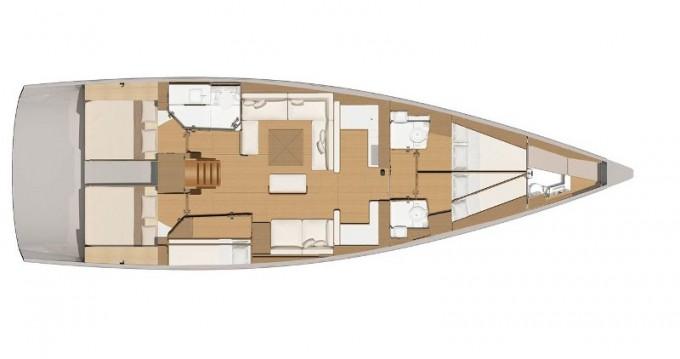 Alquiler de yate Marina di Portisco - Dufour Dufour 56 Exclusive en SamBoat