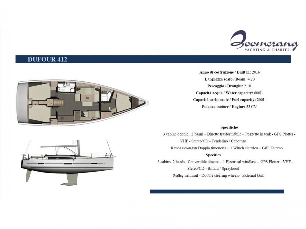 Alquiler de yate Marina di Portisco - Dufour Dufour 412 GL en SamBoat