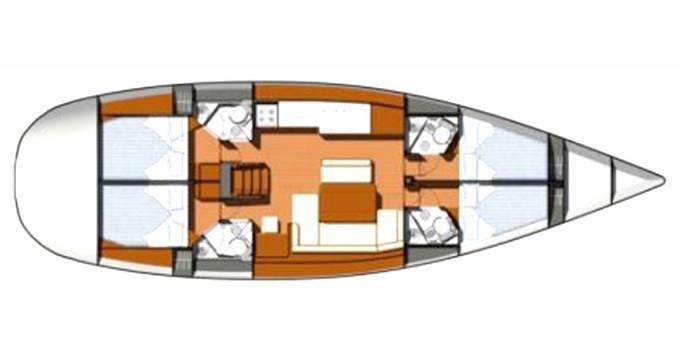 Alquiler Velero en Marina di Portisco - Jeanneau Sun Odyssey 49i