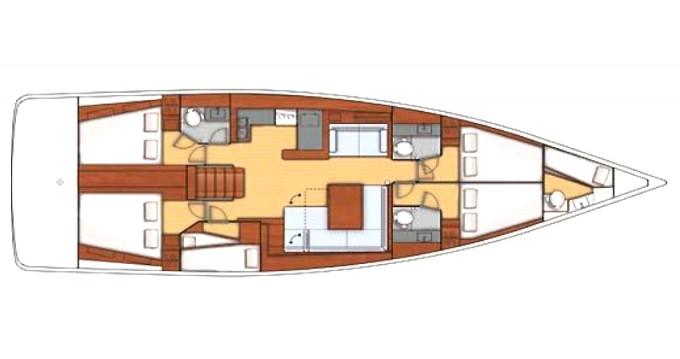 Alquiler de barcos Bénéteau Oceanis 55 enMarina di Portisco en Samboat