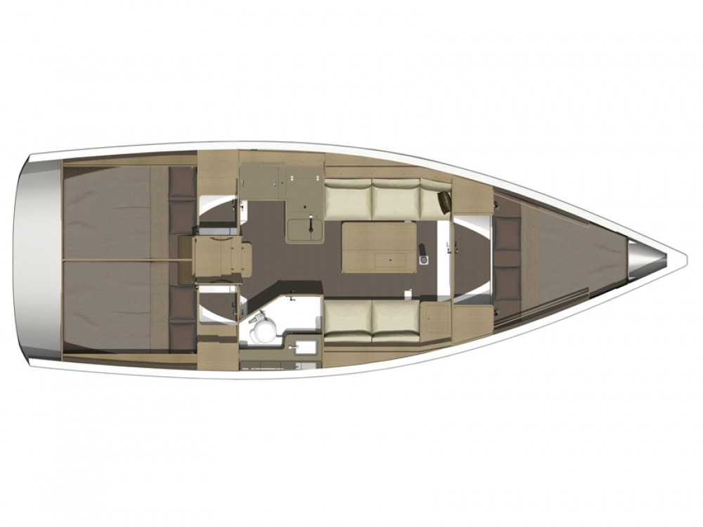Alquiler de barcos Marina di Portisco barato de Dufour 350 GL