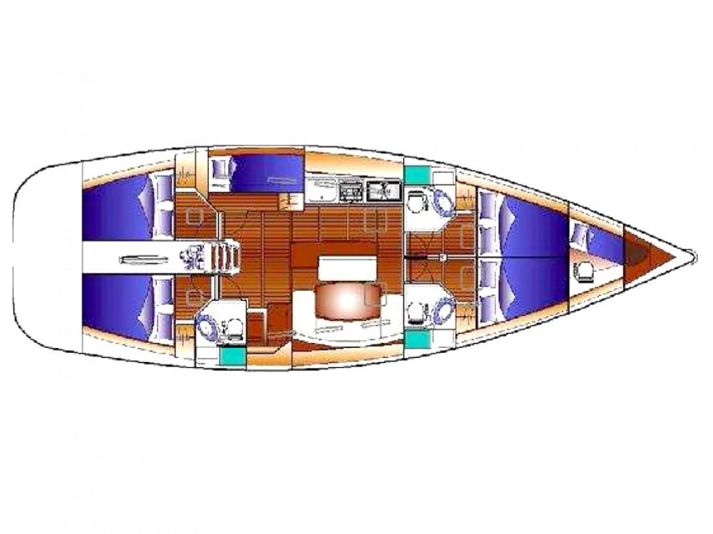 Alquiler de Bénéteau Cyclades 50.5 en Marina di Portisco