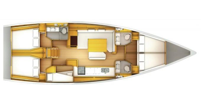 Alquiler Velero en Marina di Portisco - Jeanneau Sun Odyssey 509