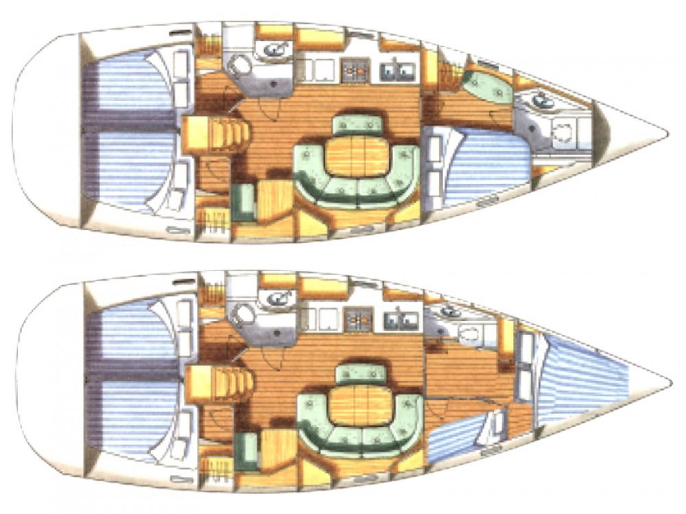 Alquiler de yate  - Bénéteau Oceanis 411-4* en SamBoat