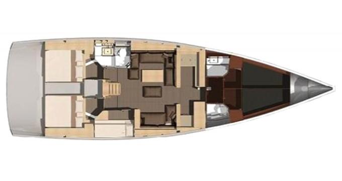 Alquiler de barcos Olbia barato de Dufour 512 Grand Large
