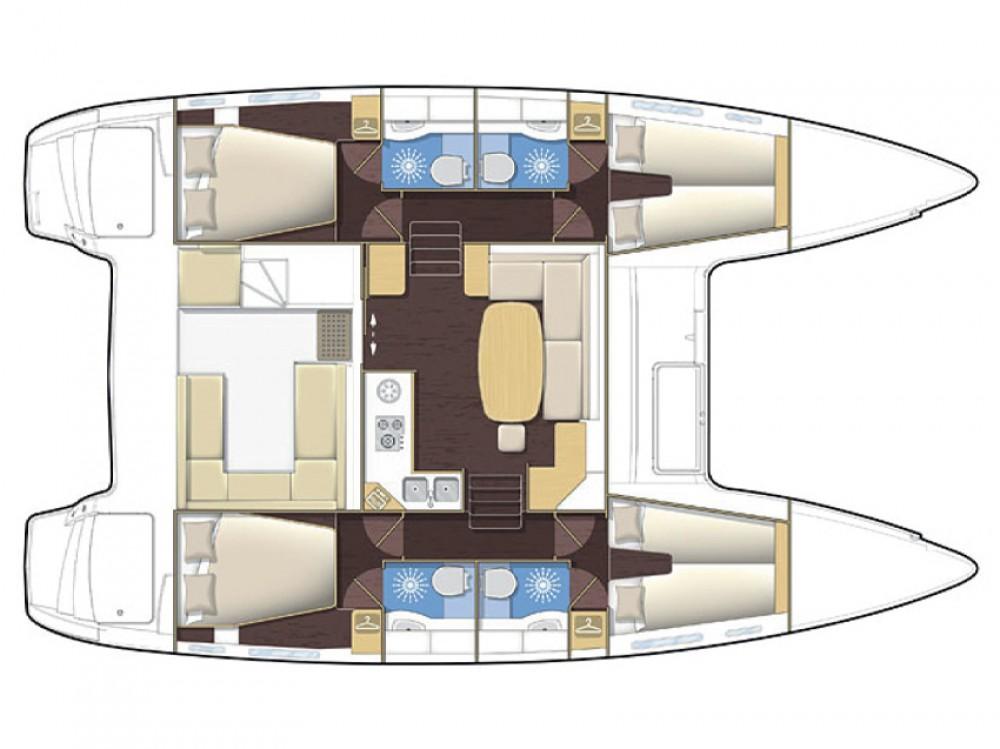 Alquiler Catamarán en Marina di Portisco - Lagoon Lagoon 400