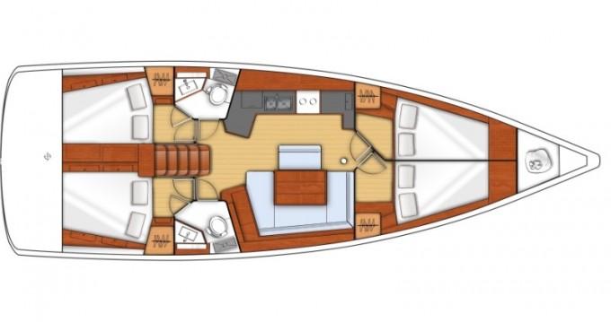 Alquiler Velero en Sukošan - Bénéteau Oceanis 45