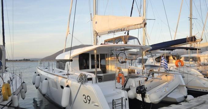 Alquiler de barcos Port of Lefkada barato de Lagoon 39