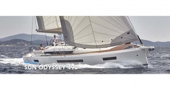 Alquiler de Jeanneau Sun Odyssey 490 en Lefkas Marina