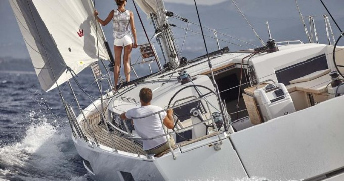 Alquiler de yate Lefkas Marina - Jeanneau Sun Odyssey 490 en SamBoat