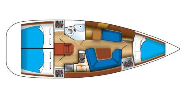 Alquiler de yate Biograd na Moru - Jeanneau Sun Odyssey 35 en SamBoat