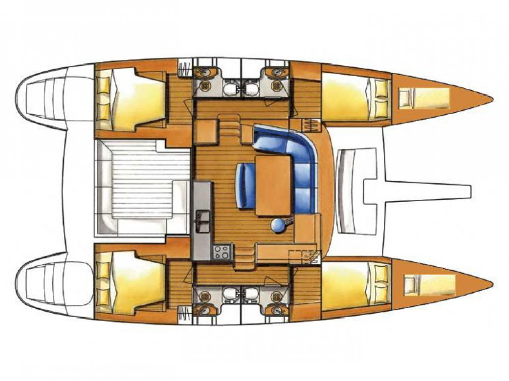 Alquiler Catamarán en Le Marin - Lagoon Lagoon 450