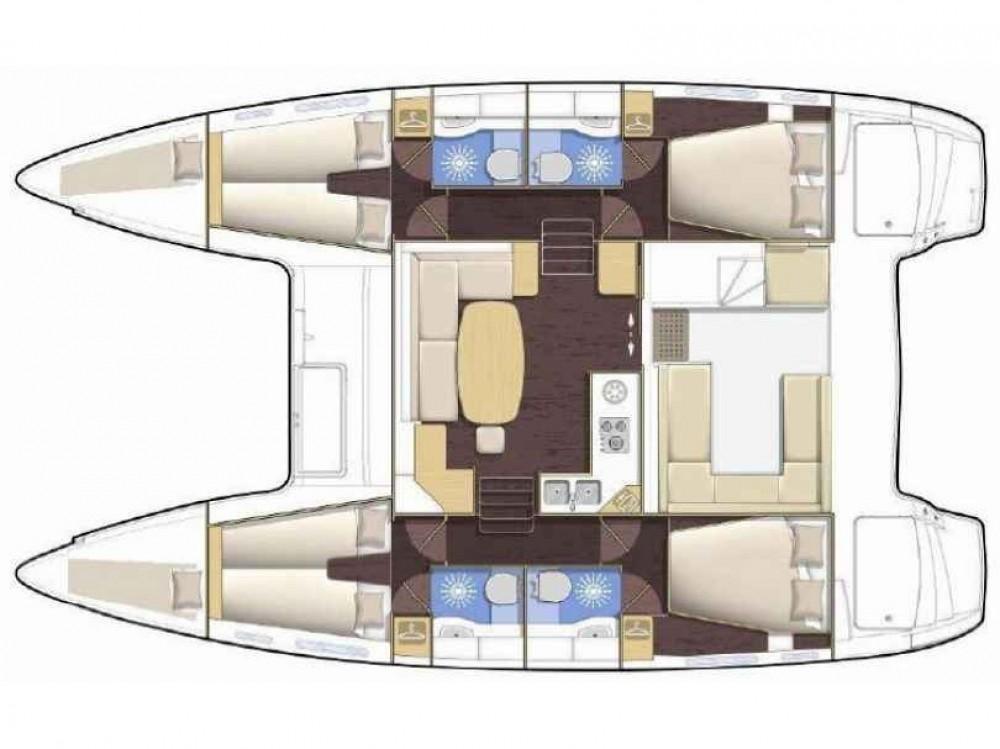 Alquiler Catamarán en Le Marin - Lagoon Lagoon 400 S2