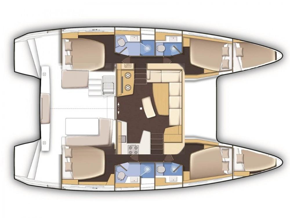 Alquiler Catamarán en Le Marin - Lagoon Lagoon 42
