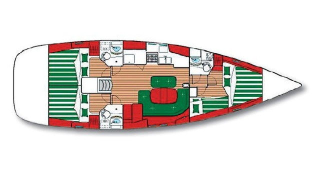 Alquiler de barcos Bénéteau Oceanis 473 C enŠibenik en Samboat