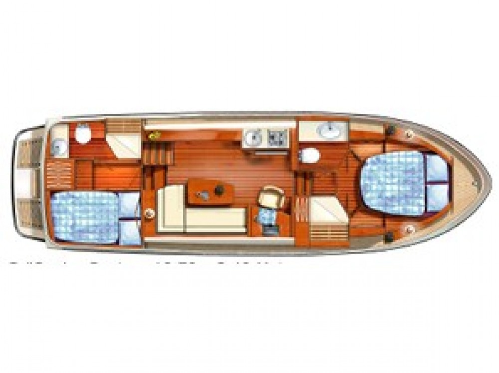 Alquiler Lancha Linssen con título de navegación