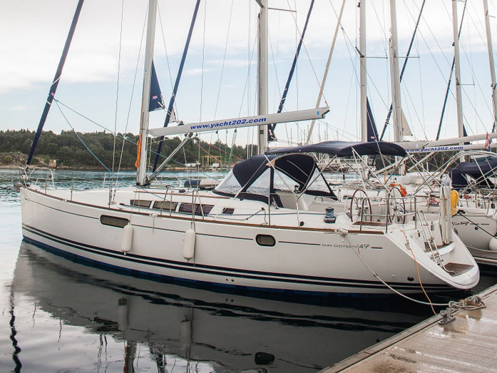 Alquiler de barcos Šibenik barato de Sun Odyssey 49i