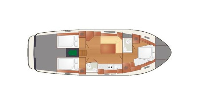 Alquiler de barcos Wilkasy barato de Nautika 1300 VIP