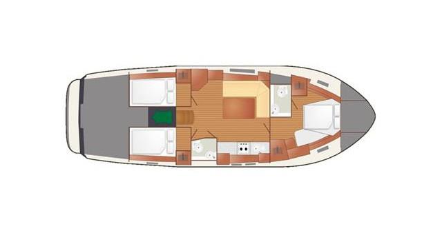 Alquiler de barcos Delphia Nautika 1300 Exc enWilkasy en Samboat