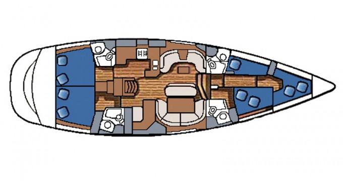 Alquiler Velero en Betina - Jeanneau Sun Odyssey 54 DS