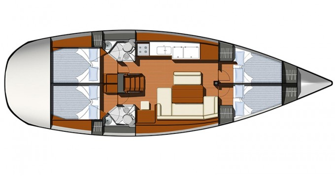 Alquiler de barcos Betina barato de Sun Odyssey 44i