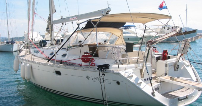 Jeanneau Sun Odyssey 52.2 entre particulares y profesional Betina