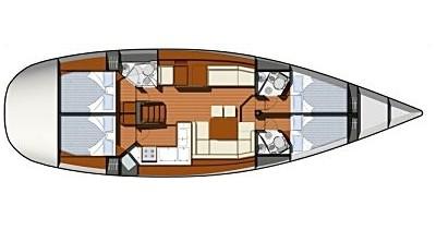 Alquiler de yate Betina - Jeanneau Sun Odyssey 50DS en SamBoat