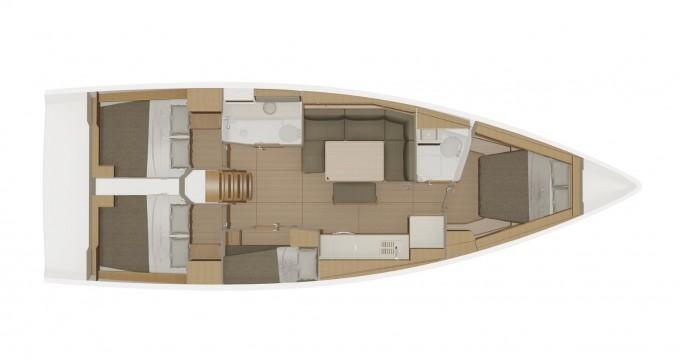Alquiler de barcos Dufour Dufour 430 Grand Large enMarina di Portisco en Samboat