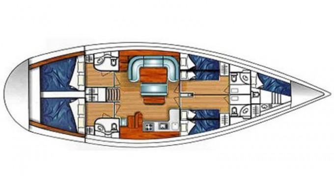 Alquiler de Velero, con o sin patrón Ocean Lefkas Marina