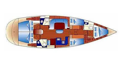 Alquiler de barcos Palma de Mallorca barato de Bavaria 49