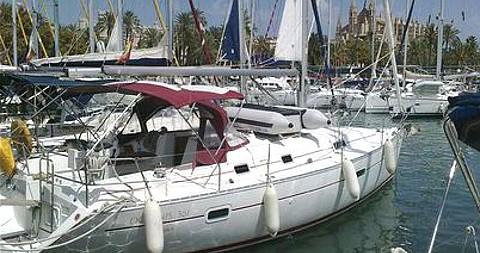 Bénéteau Oceanis 361 entre particulares y profesional Palma de Mallorca