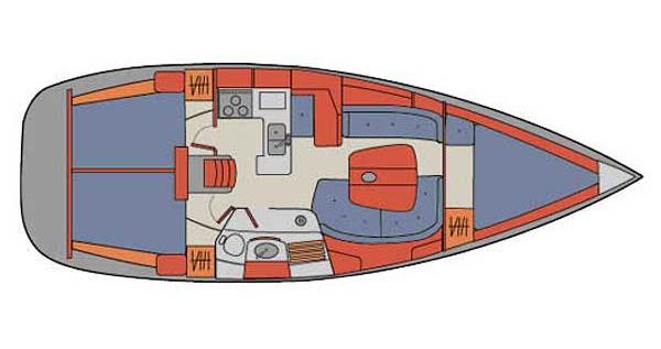 Alquiler de yate Palma de Mallorca - Bénéteau Oceanis 361 en SamBoat