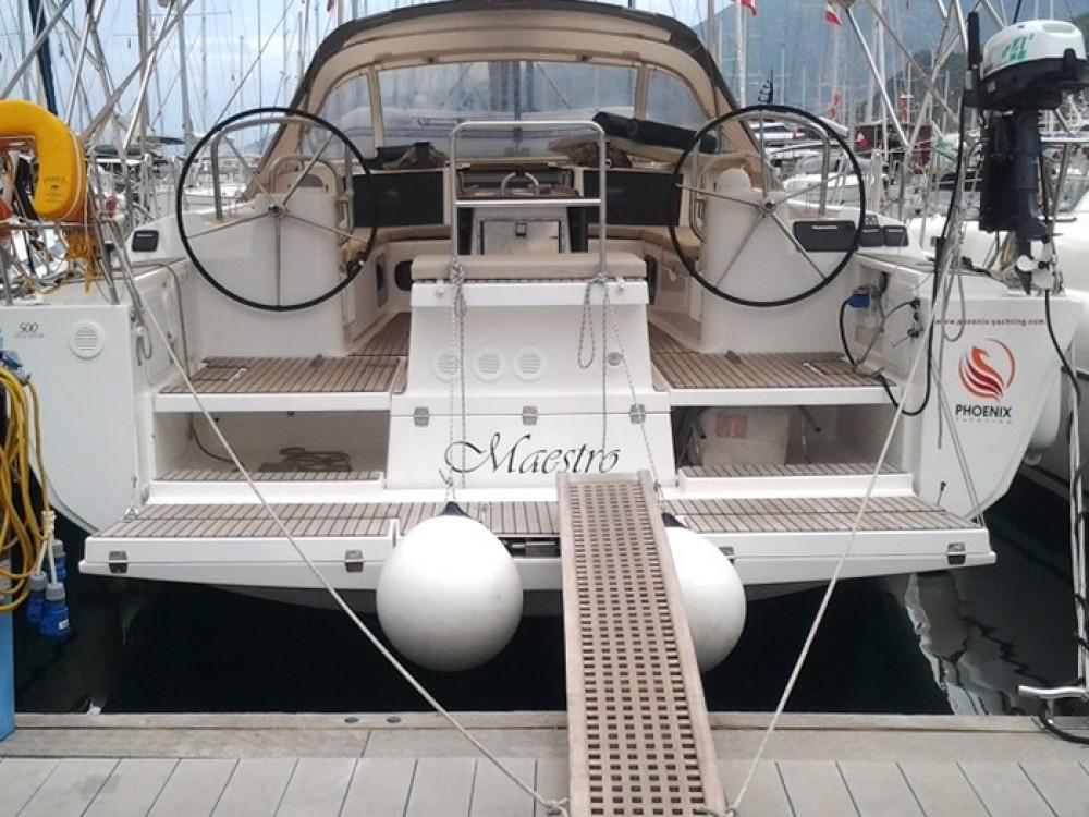 Alquiler de barcos Marmaris barato de Dufour 500 GL