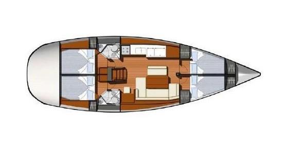 Alquiler de barcos Atenas barato de Jeanneau - Sun Odyssey 44