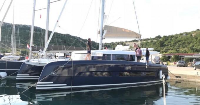 Alquiler Catamarán Dufour con título de navegación