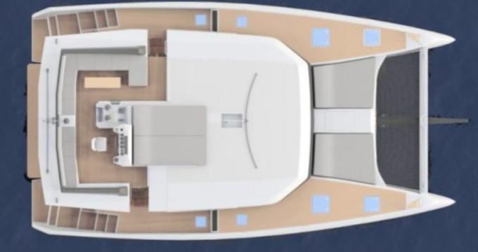 Alquiler de barcos Primošten barato de Dufour 48 Catamaran