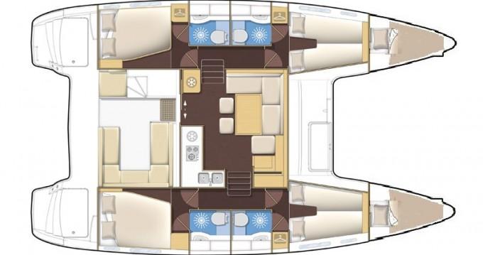 Alquiler de yate Medulin - Lagoon Lagoon 400 S2 en SamBoat