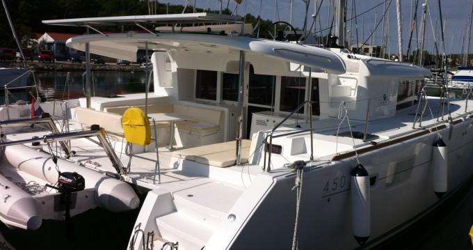 Alquiler de Catamarán, con o sin patrón Lagoon Ragusa