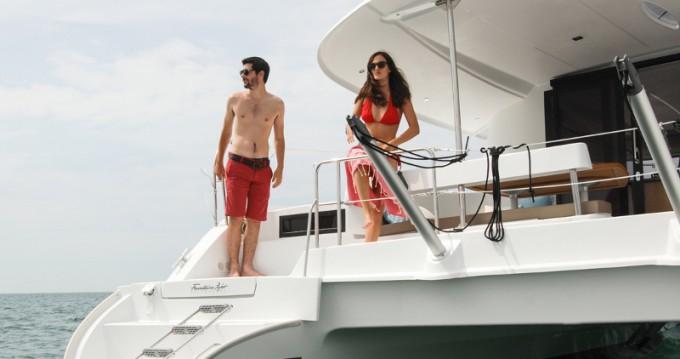 Alquiler de barcos Fountaine Pajot Lipari 41 Maestro evo enMarmaris en Samboat