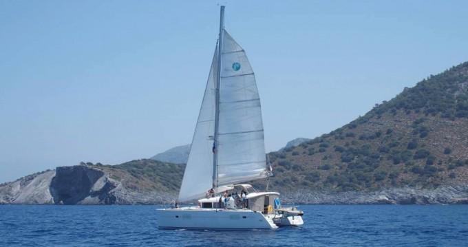 Alquiler de barcos Fethiye barato de Lagoon 400