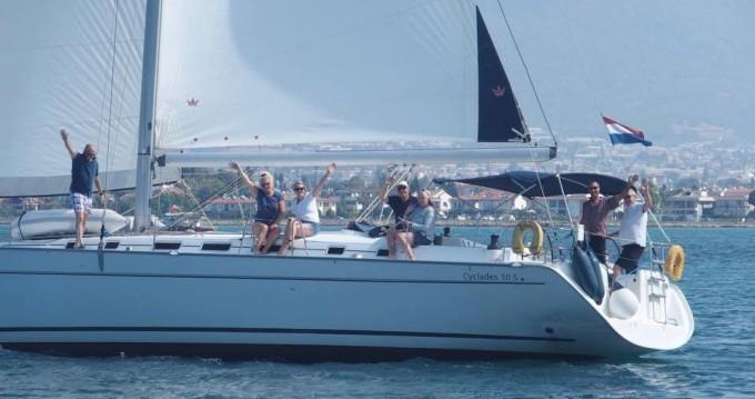 Alquiler de barcos Fethiye barato de Cyclades 50.5