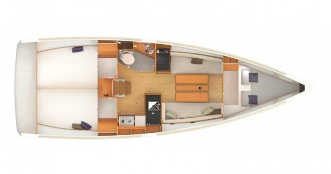 Alquiler de barcos Jeanneau Sun Odyssey 349 enFethiye en Samboat