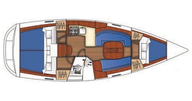 Alquiler de barcos Bénéteau Oceanis 343 enFethiye en Samboat